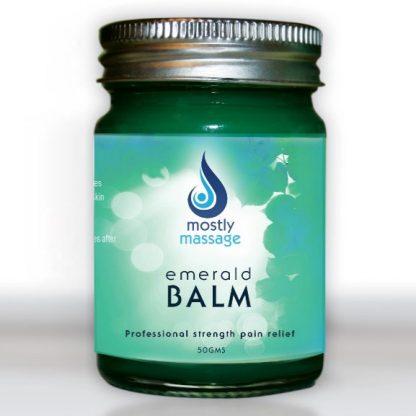 Mostly Massage Emerald Balm